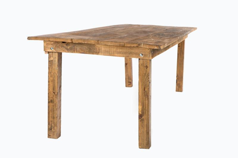 Mesa r stica de madera collections alquiler de - Mesa rustica madera ...